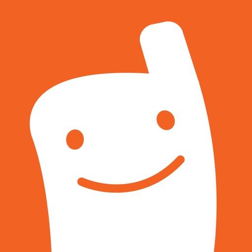 Voxer Walkie Talkie Messenger app logo