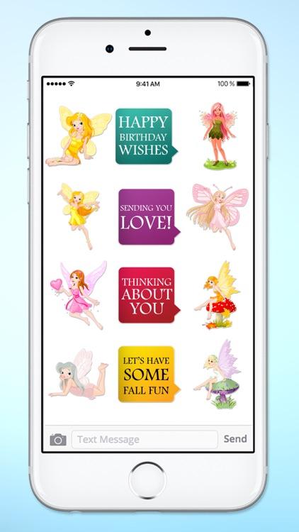 Magic Fairy Messages A Magical Sticker Pack screenshot-3