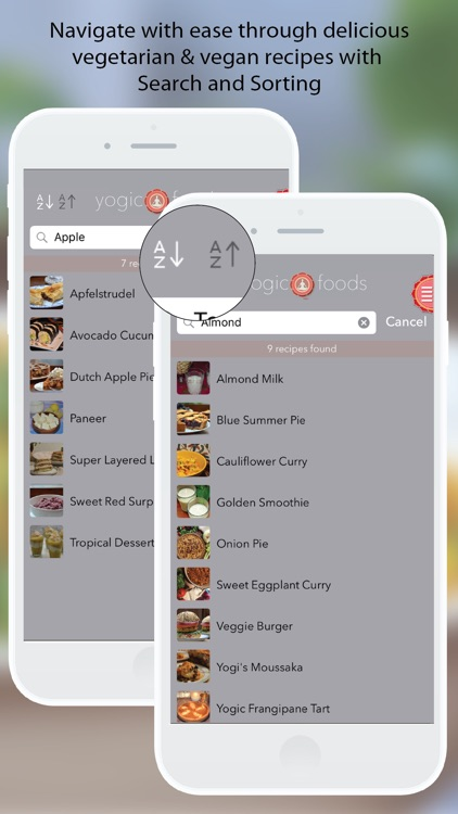 Yogicfoods -  Global vegan, vegetarian recipes screenshot-4