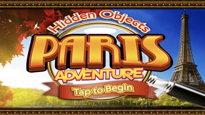 Hidden Objects Paris Adventure Object Time Puzzle screenshot one