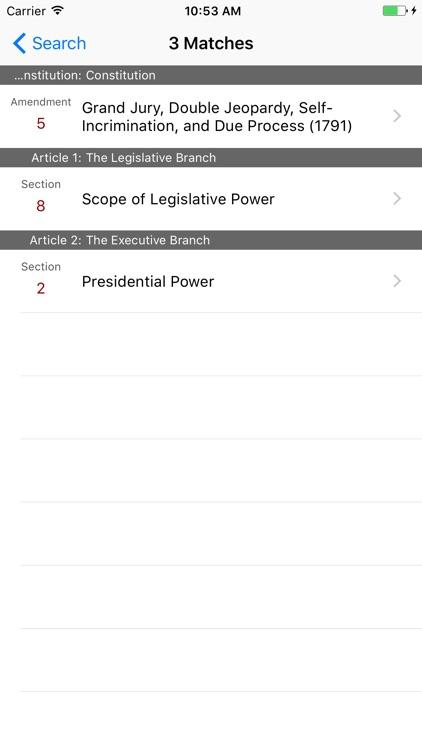 LawStack - Instant Legal Reference screenshot-4