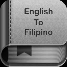 English To Filipino Dictionary and Translator