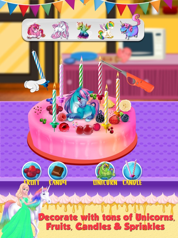 Screenshot 4 For Birthday Cake Maker Make And Bake Delicious Cakes