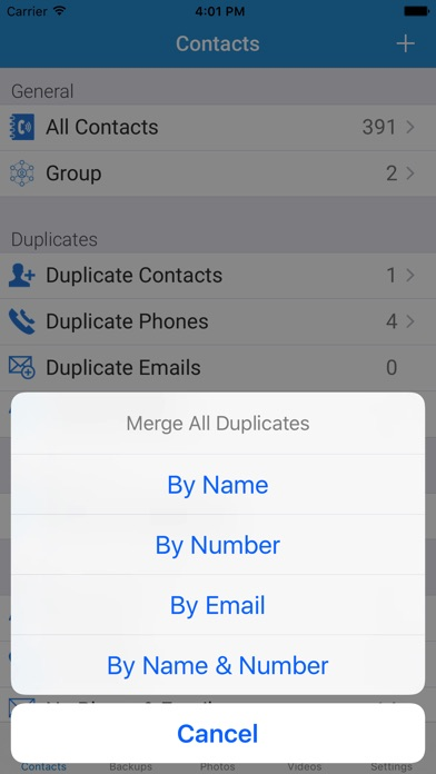 download My Contacts Backup with Photo and Video apps 3