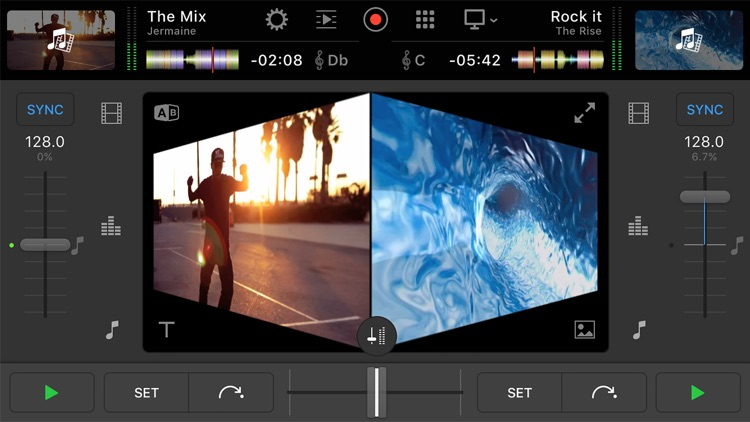 djay Pro for iPhone app image