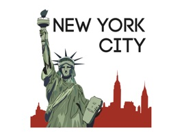 Famous Cities in America stickers by Tuğba