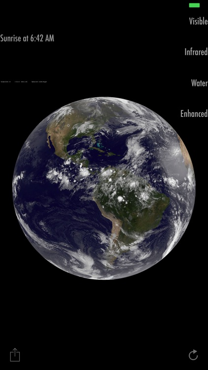 Earth View Satellite