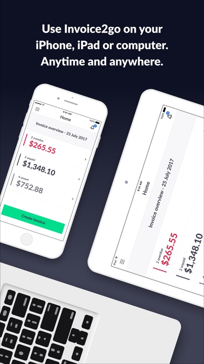 Invoice 2go — Professional Invoices and Estimates app image