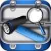 免费多功能工具箱 - 手电筒,尺子,镜子,电池,放大镜 多合一
