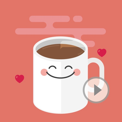 Animated Coffee Quotes Stickers by Jung HyunYi
