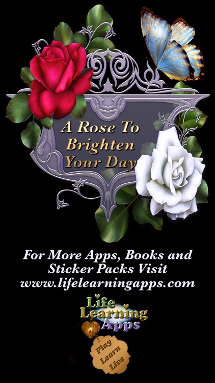 Roses For You Sticker Pack For iMessage screenshot-4