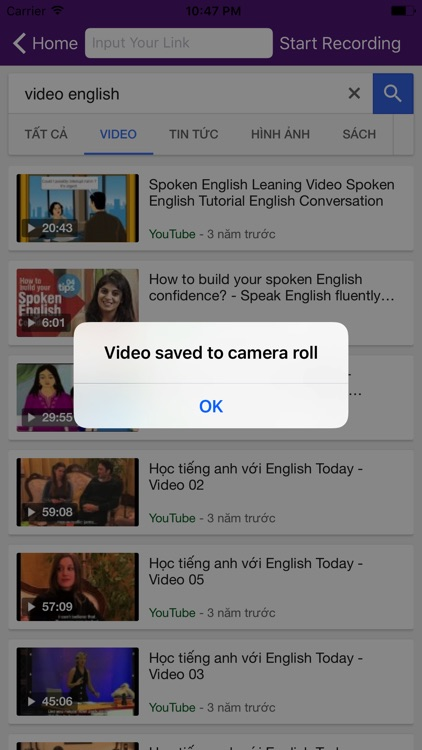 Pro Video Recorder Browser & Esily Record Sound app image