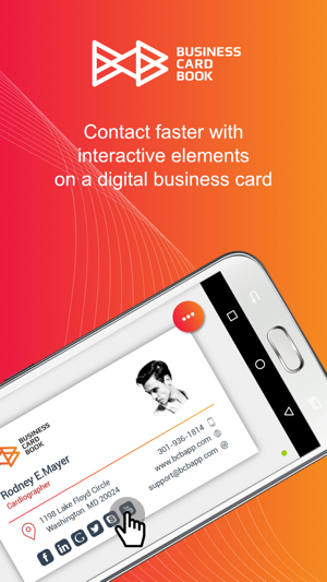 Business Card Book In De App Store