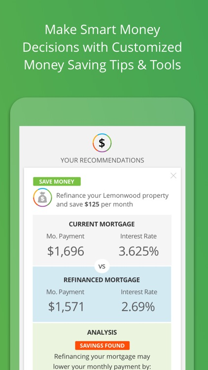 My LendingTree: Credit Score Report & Alerts screenshot-2