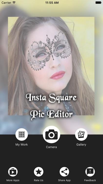 No Crop Square Photo Editor
