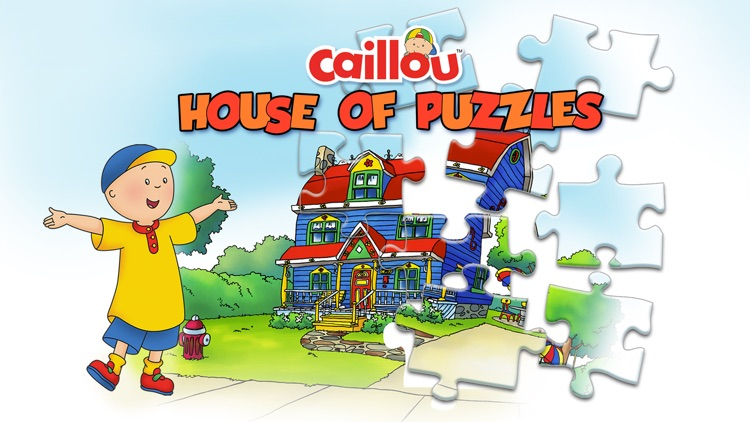 Caillou House of Puzzles screenshot-0