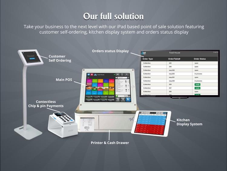Just eMenu iPad Point of Sale (POS) screenshot-4