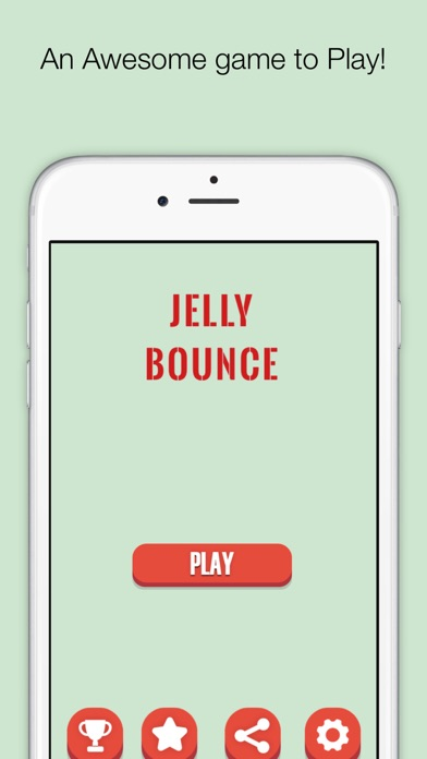Jelly Bounce - Tap to bounce game