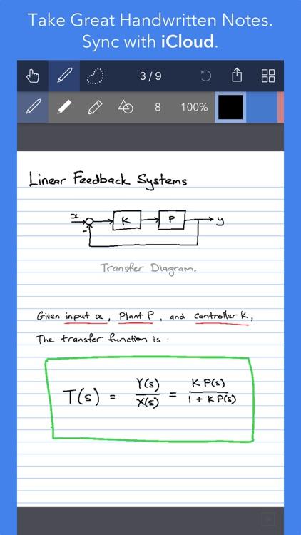 Noteflow+ Digital Notebook screenshot-3