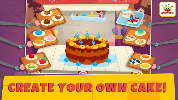Birthday Factory: Kids games