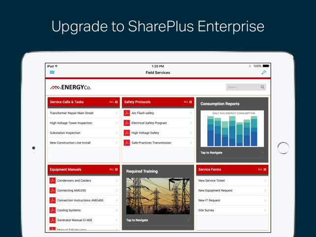 SharePlus for Office 365 Screenshot