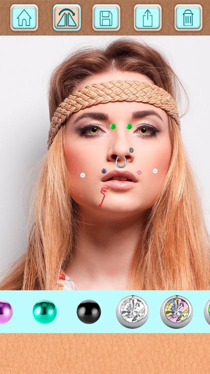 Piercing Photo Editor - Stickers and Beauty Salon screenshot-3