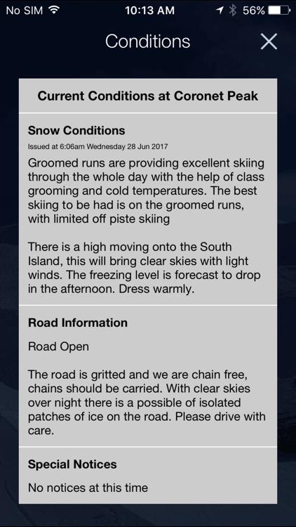 MetService Snow Weather screenshot-3