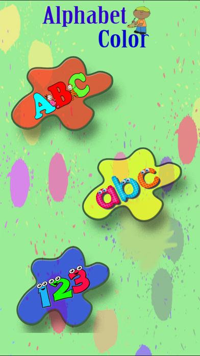 ABC Alphabet & Number Coloring screenshot 1