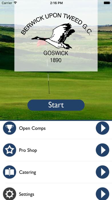 Goswick Links Golf Club screenshot one