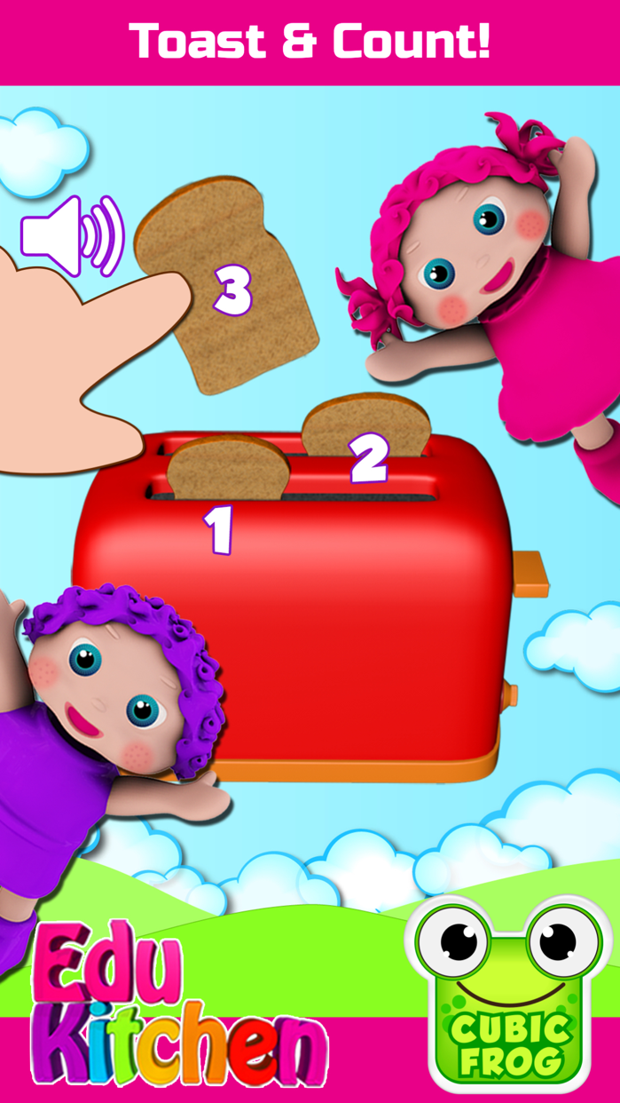 Toddlers Food Games-EduKitchen Screenshot