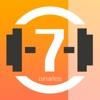 7分間集中運動タイマー - 12種類のエクササイズ
