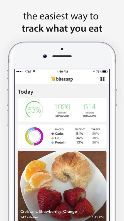 Bitesnap - Photo Food Journal