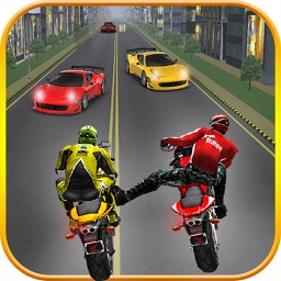 Highway Stunt Bike Attack Racer