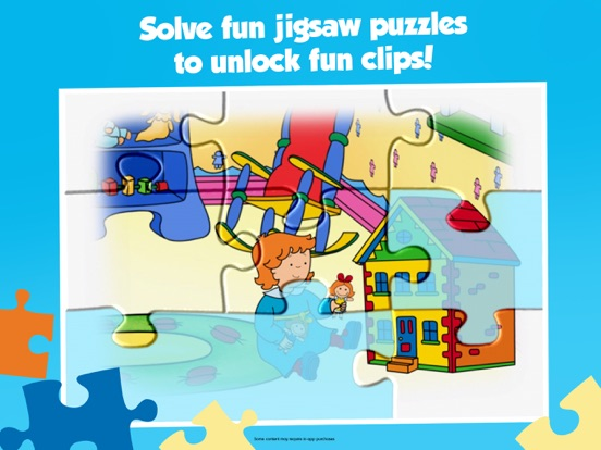 Caillou House of Puzzles screenshot