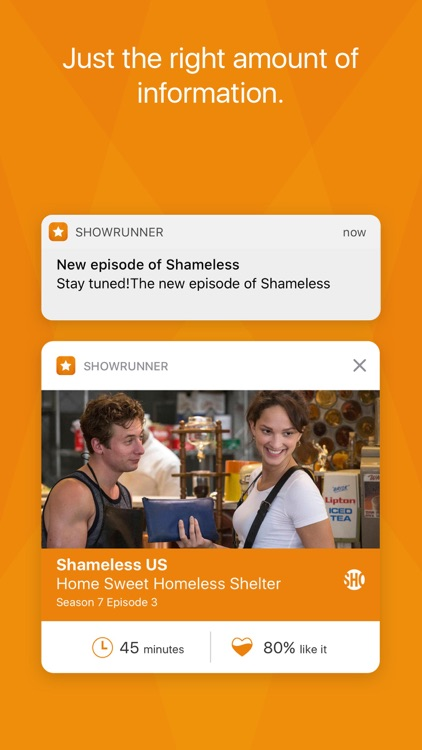 Showrunner - The smart way to track TV Shows screenshot-1
