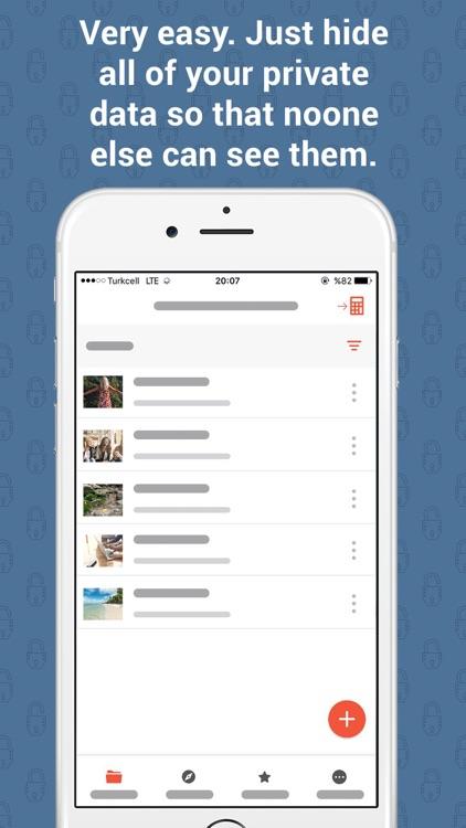 Secret Files - Hide Your Photos And Videos