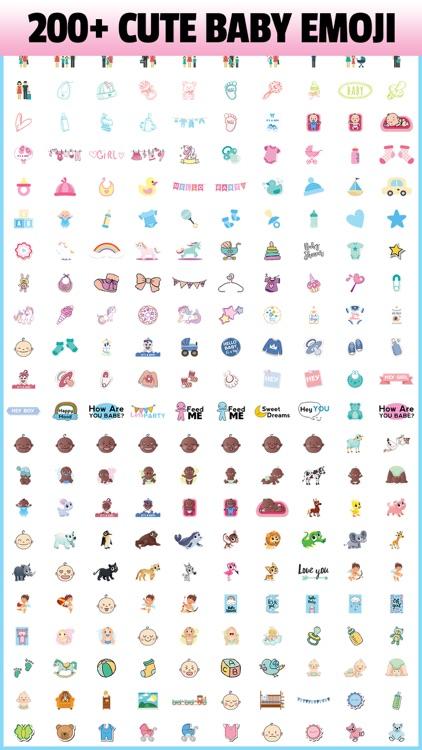 BABY EMOJI - Sticker App for Moms & Infants