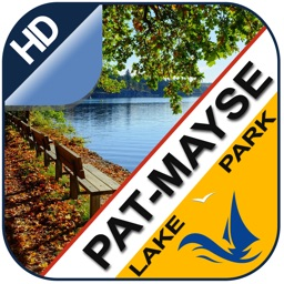 Pat Mayse GPS offline chart for lake & park trails