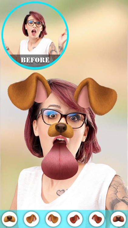 Doggy Face - Photo Filters & Stickers for Snapchat
