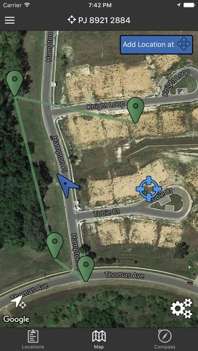 Land Nav Assistant Screenshot