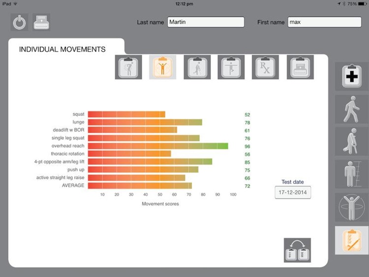 Movement Screen screenshot-3