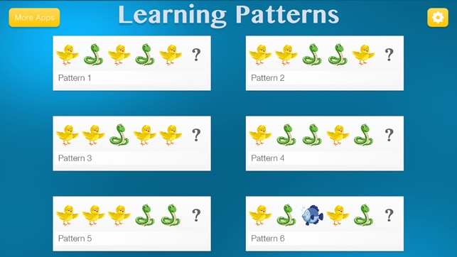 Learning Patterns - Pattern & Logic Game for Kids Screenshot
