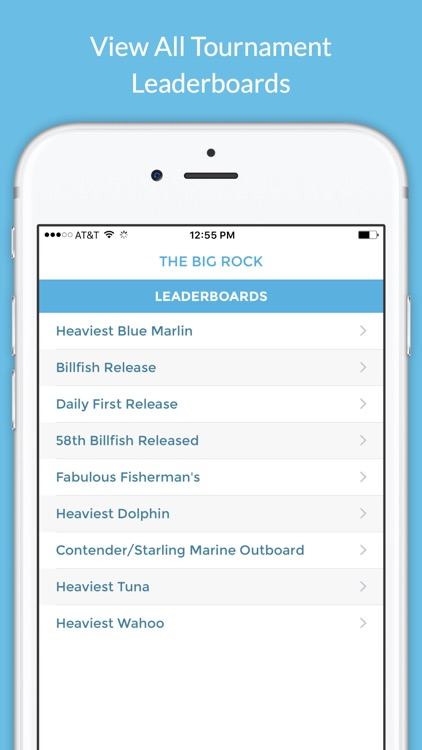 The Big Rock Blue Marlin Tournament screenshot-0