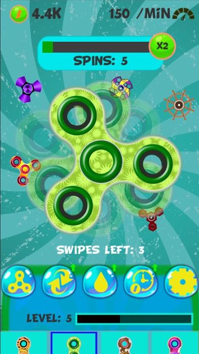 New Fidget - Finger spinner games screenshot two