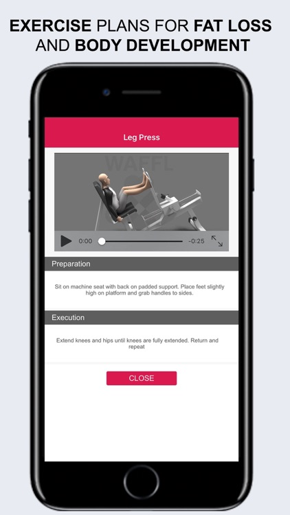 WAFFL Personal Fitness Trainer screenshot-1