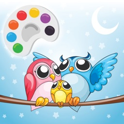 Cute Owl Coloring Drawing Pages for Kid
