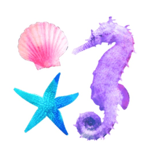 Paradise Beach Colorful Stickers icon