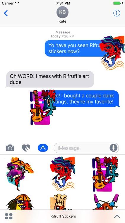 Rifruff Stickers