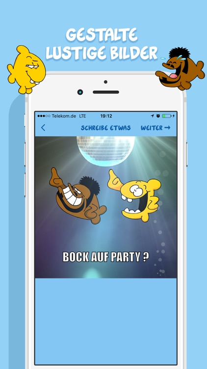 Ruthe Cartoons - Emoji und Sticker Keyboard-App screenshot-3