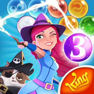 Bubble Witch 3 Saga app